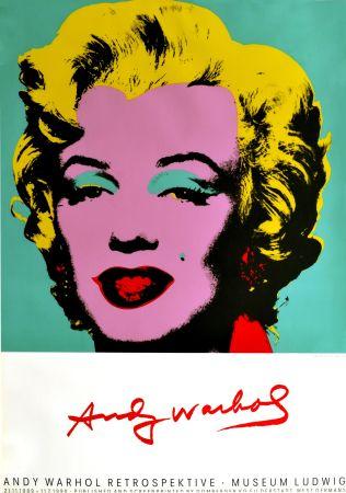 Cartel Warhol - Marilyn Monroe