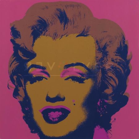 Serigrafía Warhol - Marilyn Monroe (Fs Ii.27)
