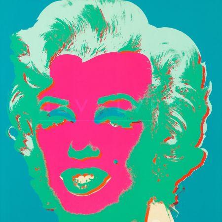 Serigrafía Warhol - Marilyn Monroe (Fs Ii.30)