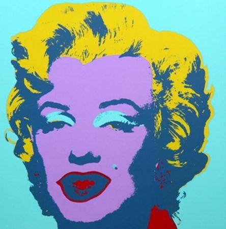 Litografía Warhol (After) - Marilyn No 23, Sunday B Morning (after Andy Warhol)