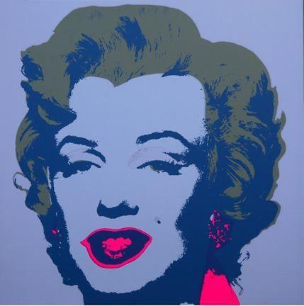 Litografía Warhol (After) - Marilyn No 26, Sunday B Morning (after Andy Warhol)