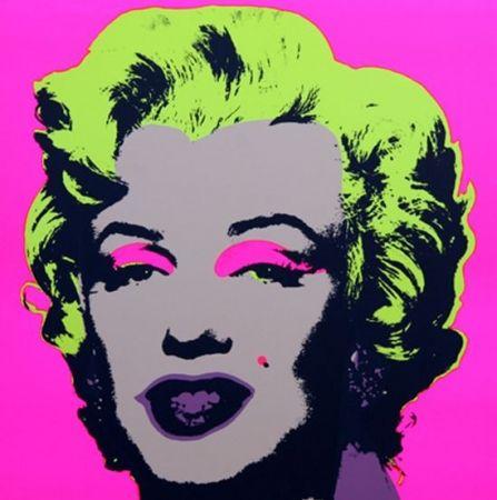 Litografía Warhol (After) - Marilyn No 31, Sunday B Morning (after Andy Warhol)