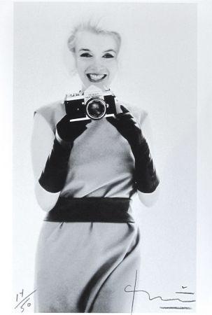 Fotografía Stern - Marilyn with Nikon