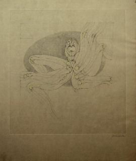 Aguafuerte Y Aguatinta Bellmer - Marionnette 2