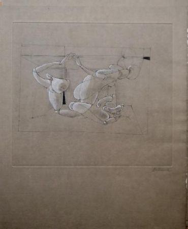 Aguafuerte Y Aguatinta Bellmer - Marionnette 4