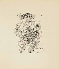 Libro Ilustrado Dubuffet - MARTEL (André). La Djingine du Théophélès.