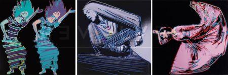Serigrafía Warhol - Martha Graham Complete Portfolio (Fs Ii.387-389)