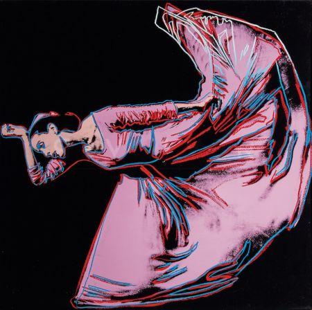 Serigrafía Warhol - Martha Graham, Letter to the World (The Kick) (FS II.389)