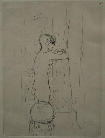 Grabado Bonnard - Marthe