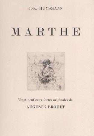 Aguafuerte Brouet - Marthe