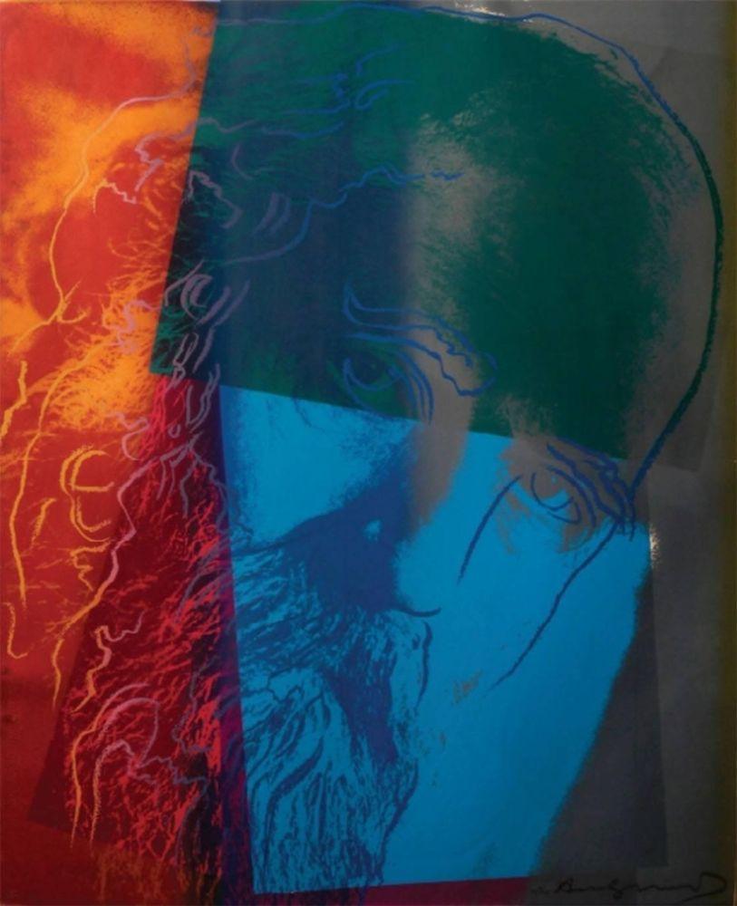 Serigrafía Warhol - Martin Buber (FS II.228)