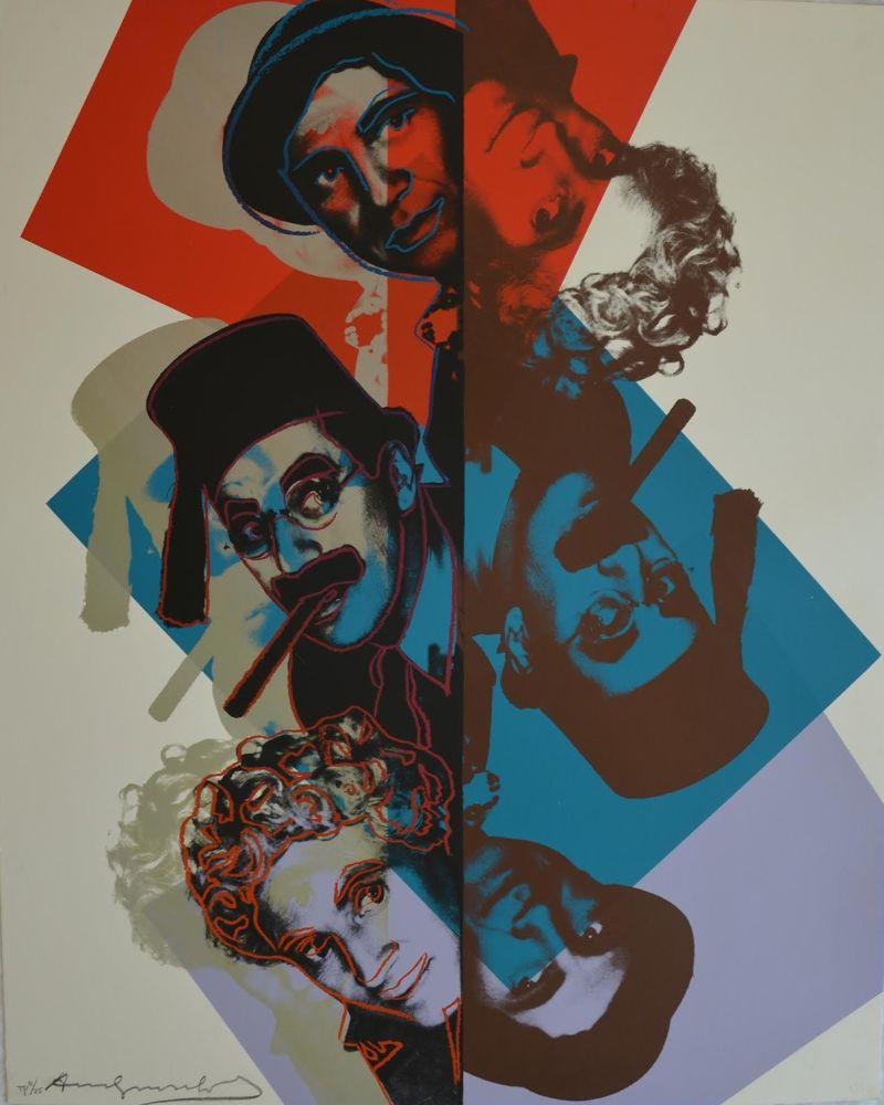 Serigrafía Warhol - Marx Brothers TP