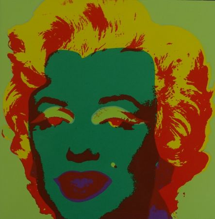 Serigrafía Warhol - Marylin monroe