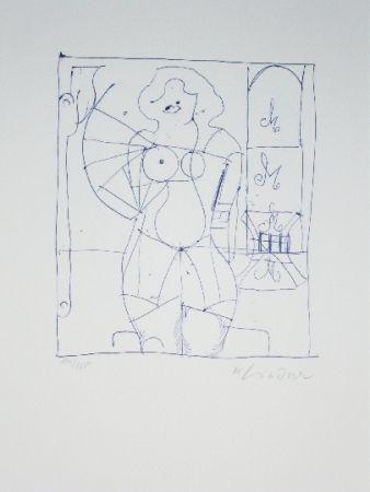 Litografía Lindner - Marylin was here 13