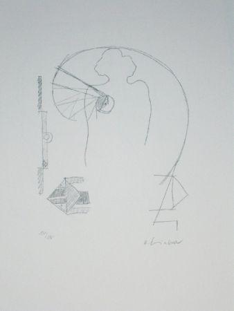 Litografía Lindner - Marylin was here 15