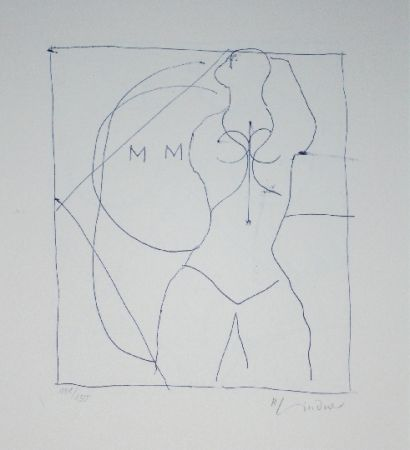 Litografía Lindner - Marylin was here 16