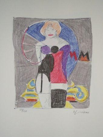 Litografía Lindner - Marylin was here 3