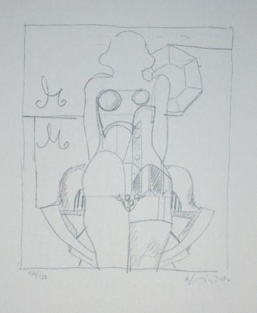 Litografía Lindner - Marylin was here 6