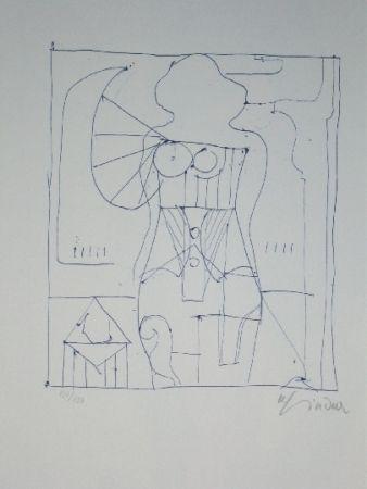 Litografía Lindner - Marylin was here 7
