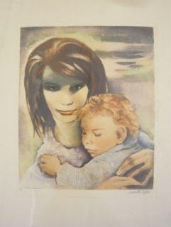 Grabado Lydis - Maternité