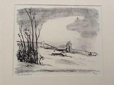 Grabado Asselin - Maurice Asselin.  Dix estampes originales.