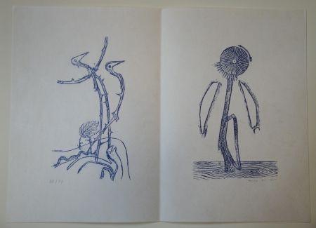 Libro Ilustrado Ernst - Max Ernst - Jean Tardieu. 24 Frottagen