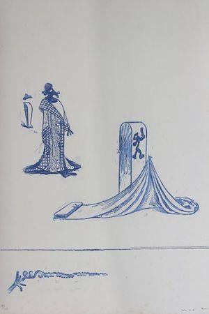 Litografía Ernst - Max Ernst (1891-1976). Décervelages, Jarry. 1971. Signé