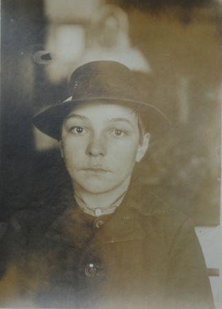 Fotografía Hine - Mayar (Hugarian) Boy 1905