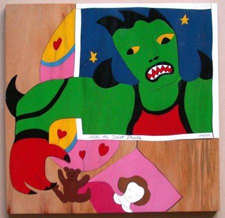 Sin Técnico De Saint Phalle - Mechant Mechant Puzzle