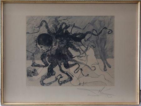 Aguafuerte Y Aguatinta Dali - Medusa