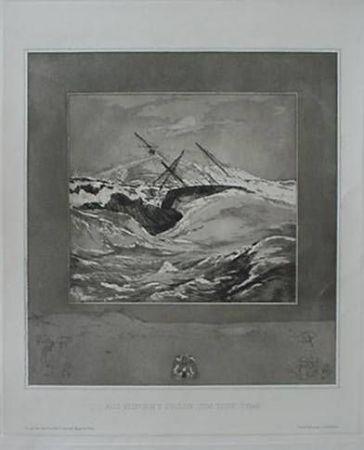 Aguafuerte Y Aguatinta Klinger - Meer (Sea), from the portfolio Vom Tode
