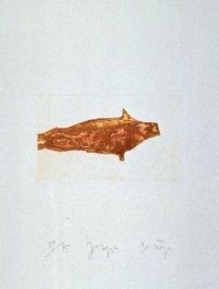 Aguafuerte Y Aguatinta Beuys - Meerengel Robbe II