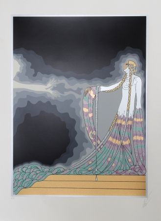 Relieve Erte - Melisande from the At the Theater Suite