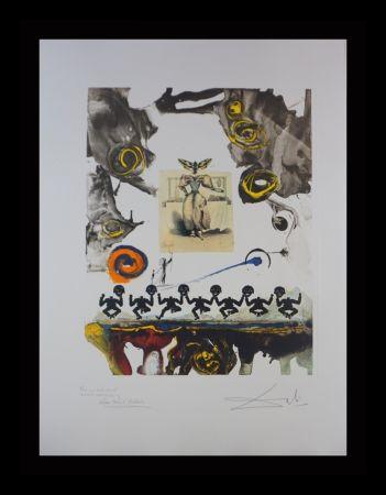Grabado Dali - Memories of Surrealism Surrealist Gastronomy Trial Proof