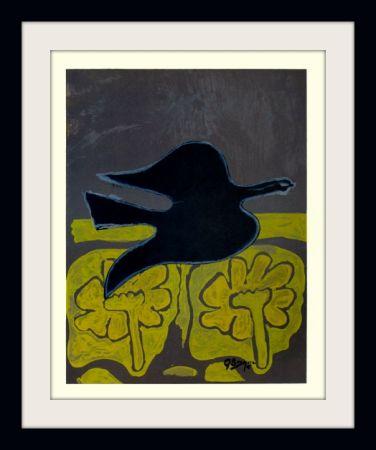 Litografía Braque - Menton