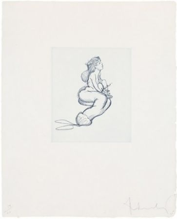 Grabado Oldenburg - Mermaid