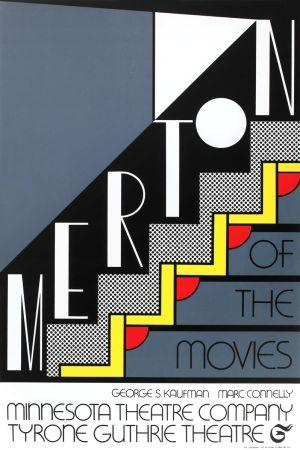 Serigrafía Lichtenstein - Merton of the Movies