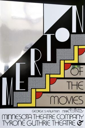 Serigrafía Lichtenstein - Merton Of The Movies Poster (Hand Signed)