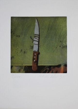 Aguafuerte Y Aguatinta Rösel - Messer / Knife