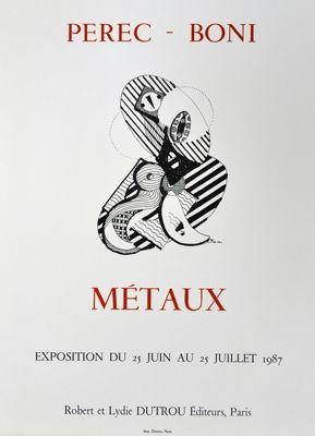 Cartel Boni - Metaux