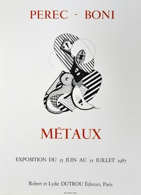 Cartel Boni - Metaux