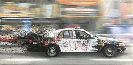 Sin Técnico Mr Brainwash - Metro Polisa (Canvas)