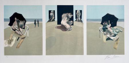 Aguatinta Bacon - Metropolitan triptych