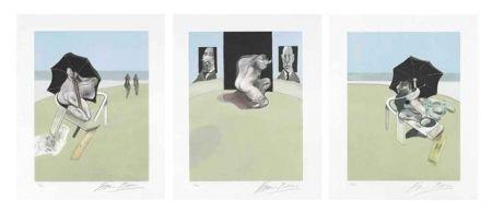 Aguafuerte Y Aguatinta Bacon - Metropolitan Triptych