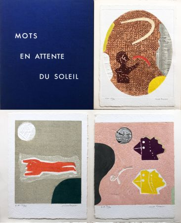Carborundo Papart - Michel Bohot : MOTS EN ATTENTE DU SOLEIL (1977).