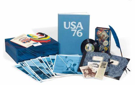 Múltiple Monory - Michel Butor - USA 76. Bicentenaire Kit - Jacques Monory