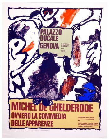 Cartel Alechinsky - Michel de Ghelderode, 1980