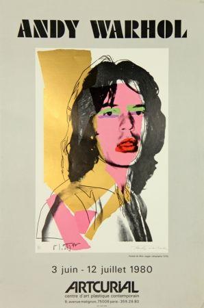 Serigrafía Warhol - Mick Jagger