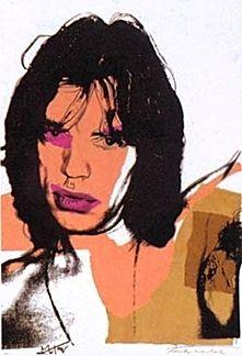 Litografía Warhol - Mick Jagger 11.141