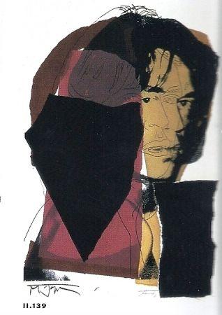 Litografía Warhol - Mick Jagger 11.142